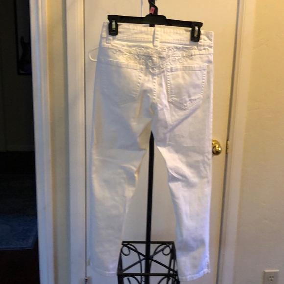 Cache Coeur Denim - Cache jeans white size 2